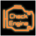 The Honda check engine light
